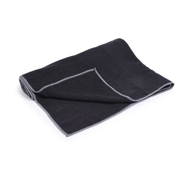 MoreYoga | Premium Yoga Towel (Black)