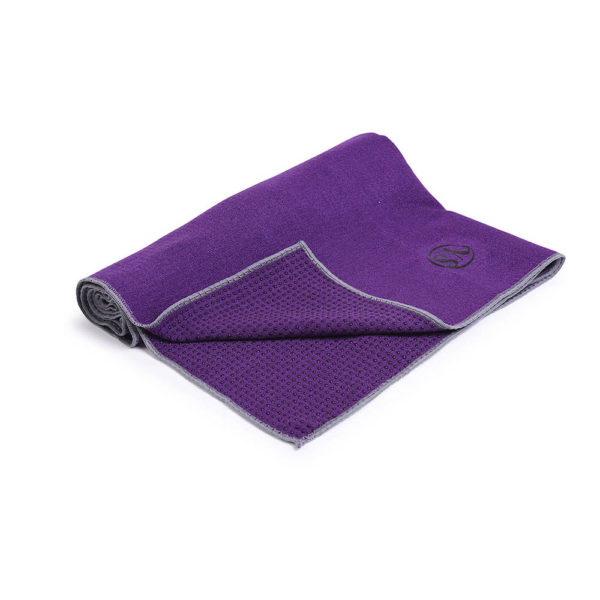 MoreYoga | Premium Yoga Towel (Dark Purple)