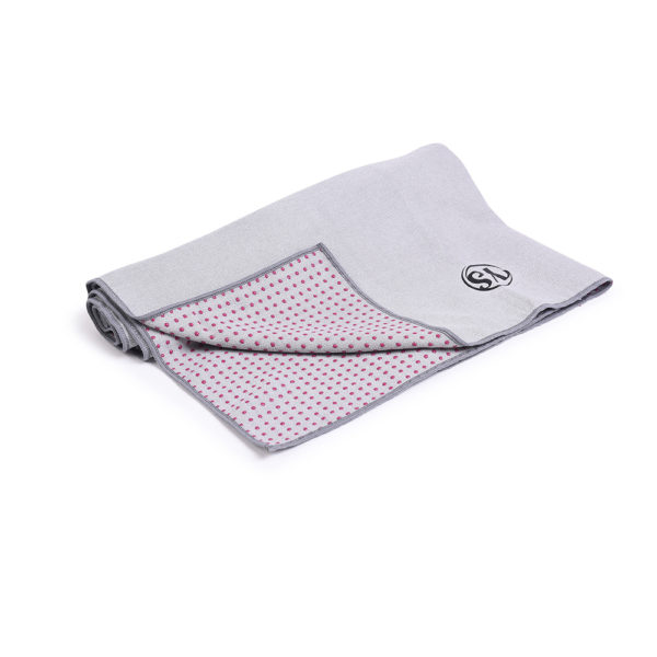 MoreYoga | Premium Yoga Towel (Grey)