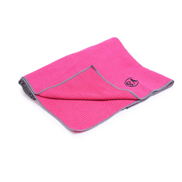 MoreYoga | Premium Yoga Towel (Hot Pink)