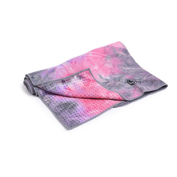 MoreYoga | Premium Yoga Towel (Purple Tie Die)