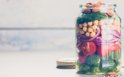 Salad Goodness: Meals in a bowl (or jar)
