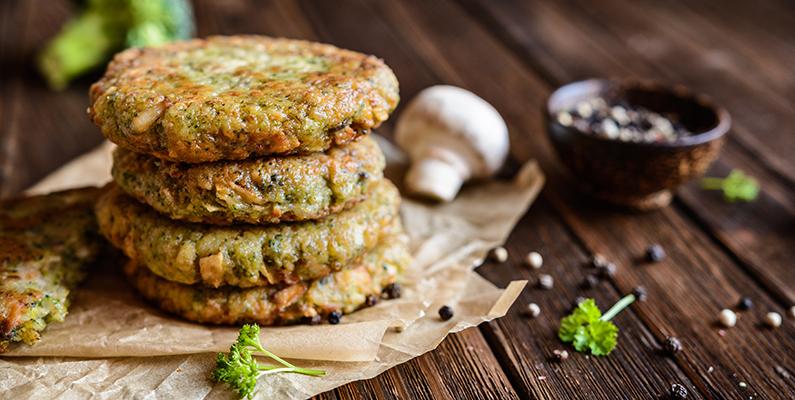 The Veggie BBQ: Mushroom & Bean Burgers