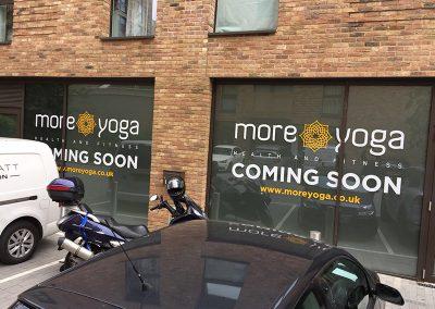 MoreYoga Surrey Quays Coming Soon