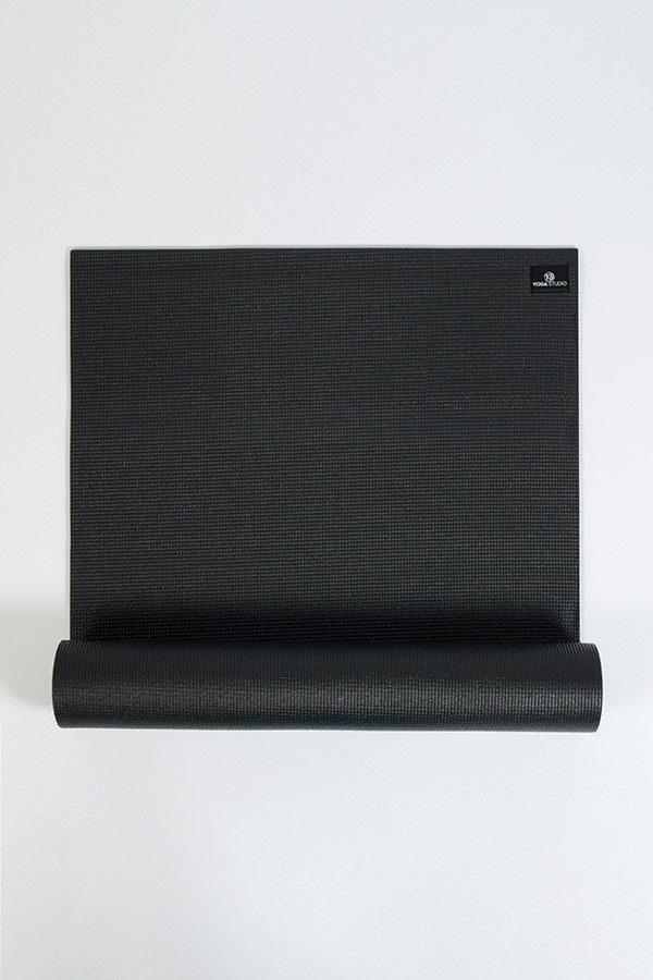 Deluxe 6mm Yoga MDeluxe 6mm Yoga Mat | Black (Main Image)at | Black