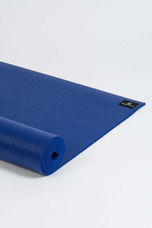 Deluxe 6mm Yoga Mat | Blue (Side Image)