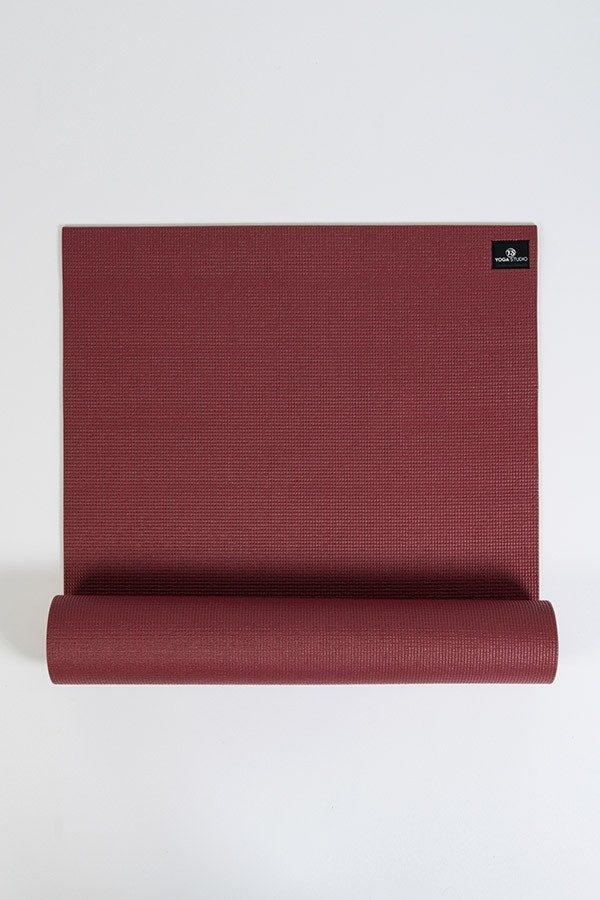 Deluxe 6mm Yoga Mat | Burgundy (Main Image)