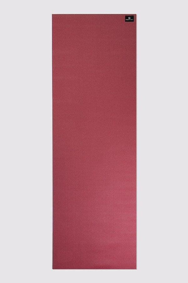 Deluxe 6mm Yoga Mat | Burgundy (Flat)