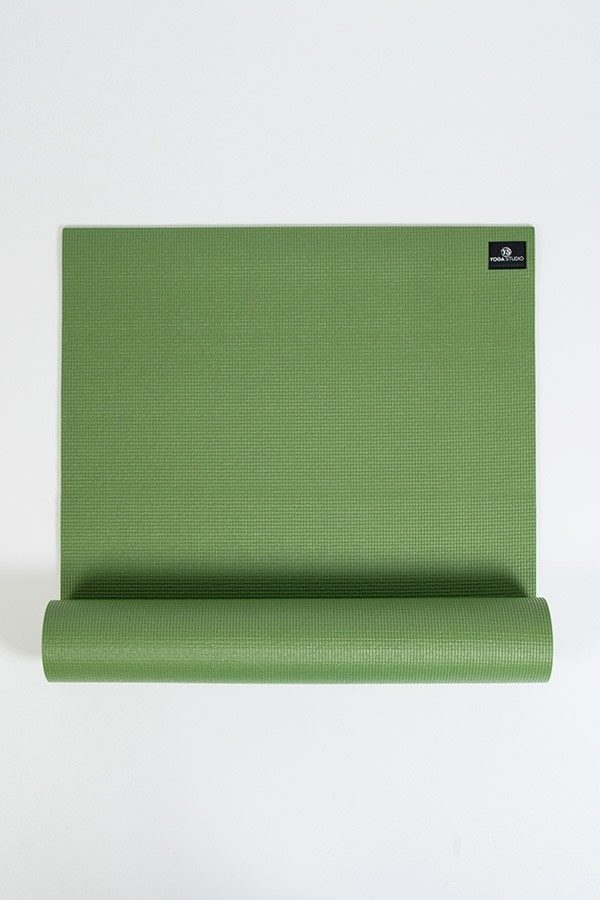 Deluxe 6mm Yoga Mat | Palm Green (Main Image)
