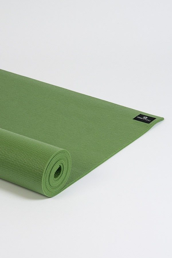 Deluxe 6mm Yoga Mat | Palm Green (Side Image)