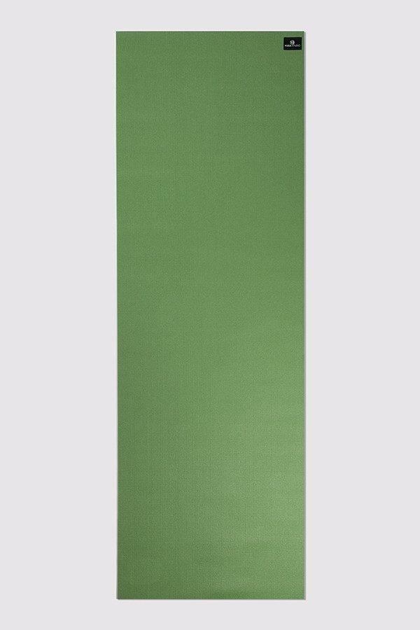 Deluxe 6mm Yoga Mat | Palm Green (Flat)