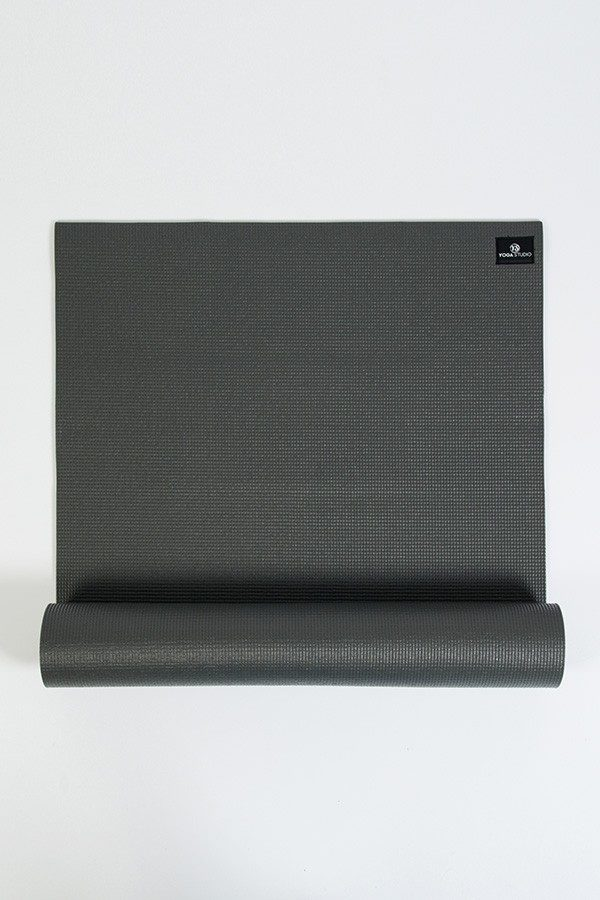Deluxe 6mm Yoga Mat | Graphite Grey (Main Image)