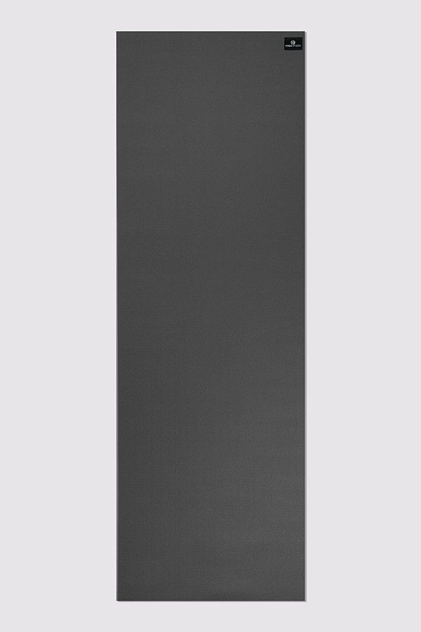 Deluxe 6mm Yoga Mat | Graphite Grey (Flat)