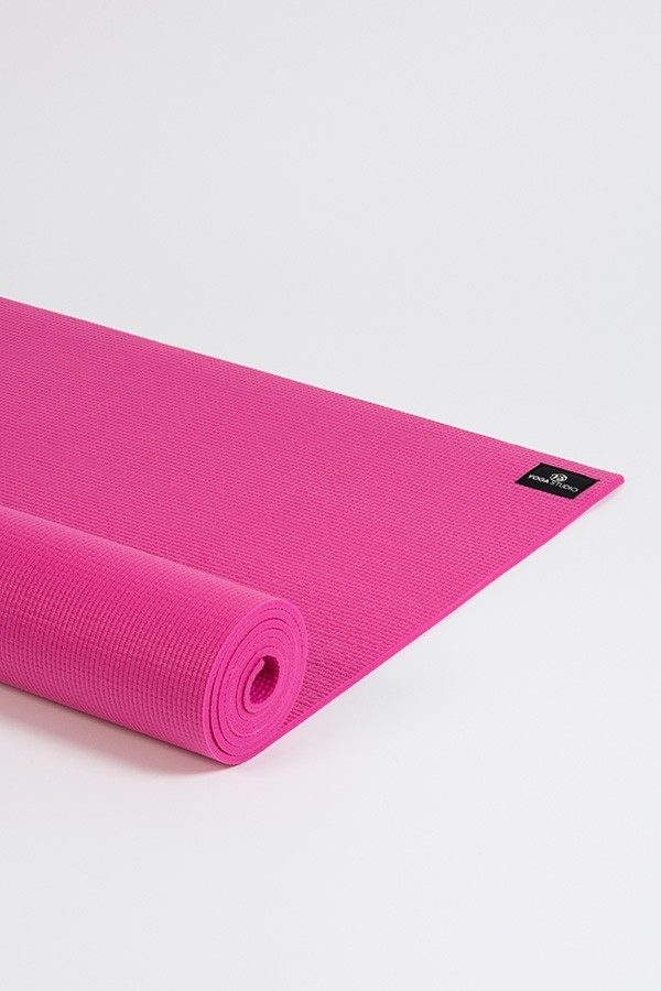 Deluxe 6mm Yoga Mat | Pink (Side Image)