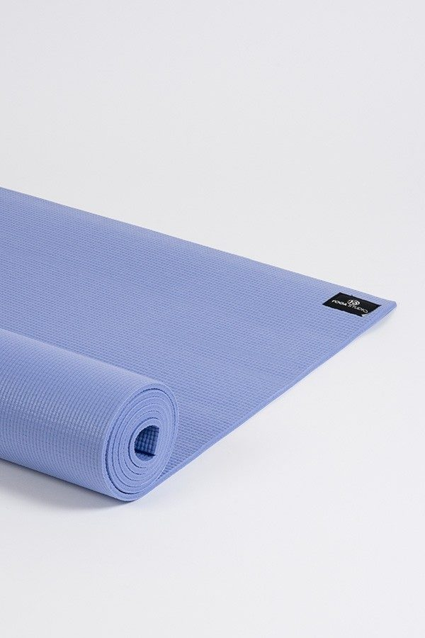 Deluxe 6mm Yoga Mat | Powder Blue (Side Image)