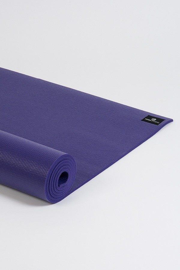 Deluxe 6mm Yoga Mat | Purple (Side Image)