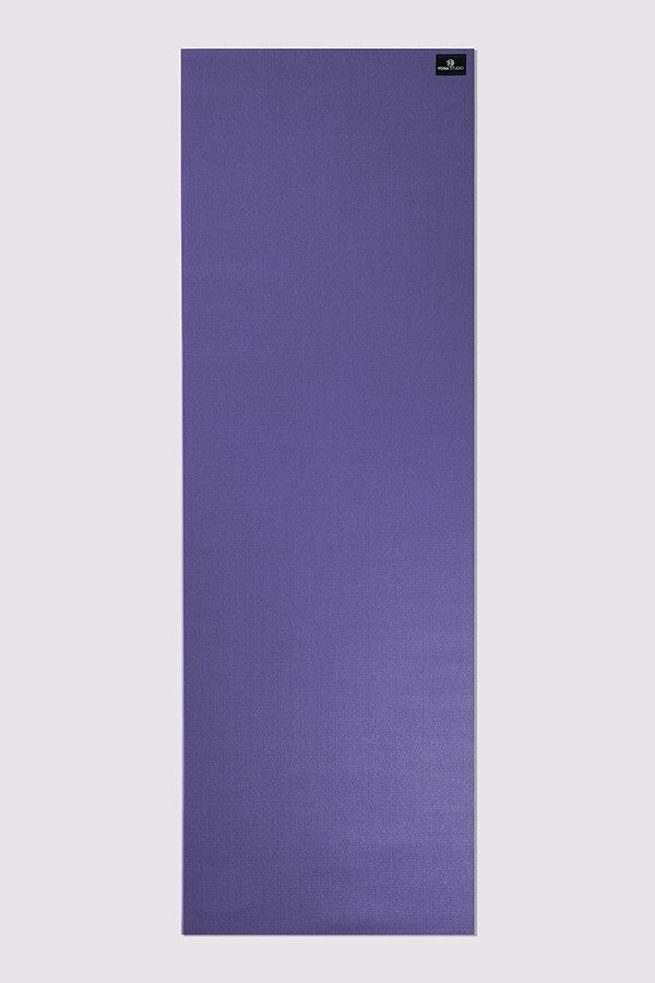 Deluxe 6mm Yoga Mat | Purple (Flat)