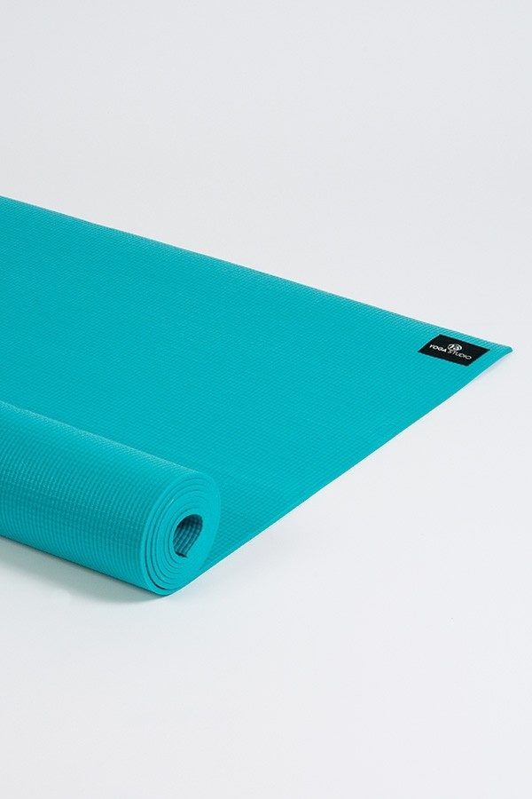 Deluxe 6mm Yoga Mat | Turquoise (Side Image)