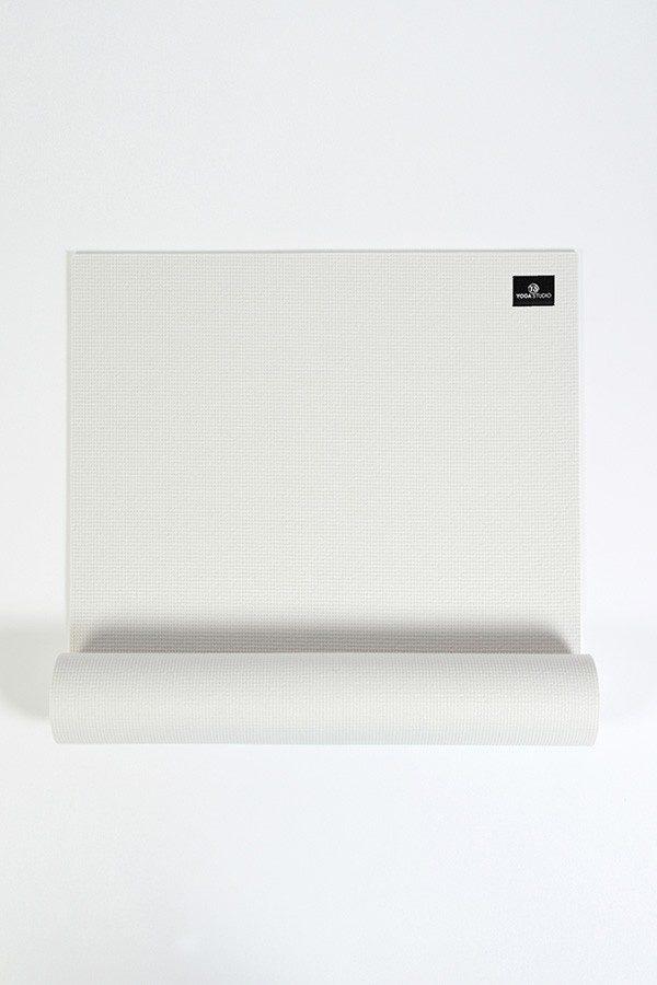 Deluxe 6mm Yoga Mat | White (Main Image)