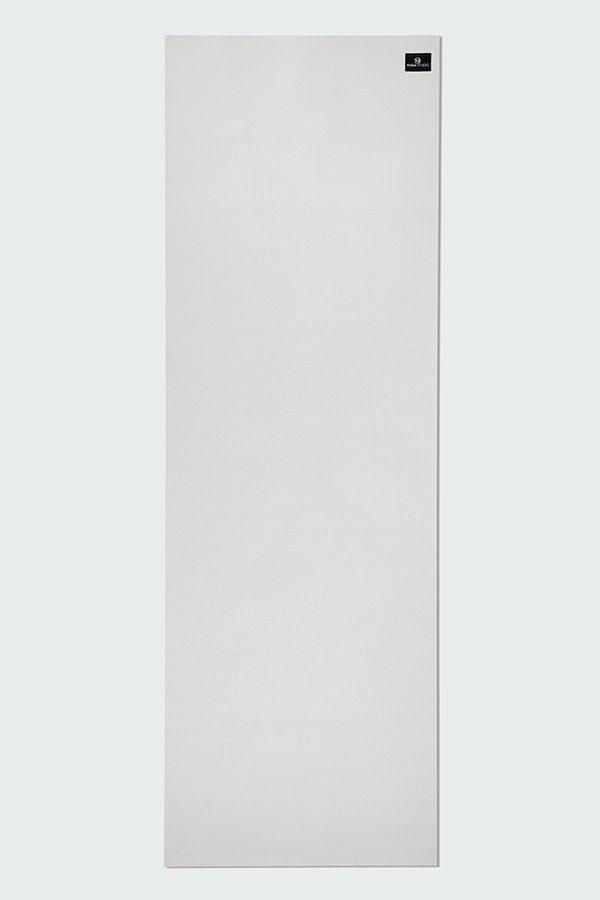 Deluxe 6mm Yoga Mat | White (Flat)