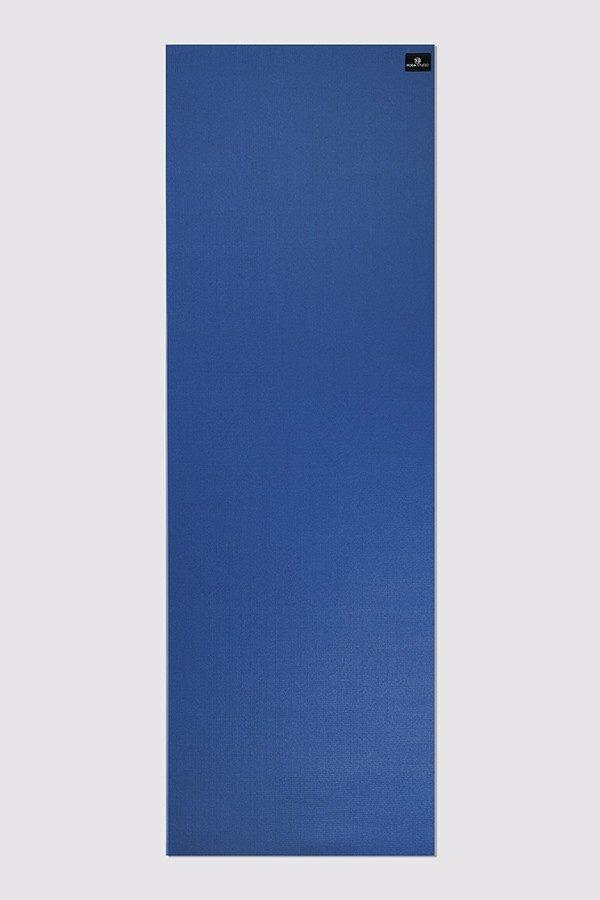Lite 4mm Yoga Mat | Blue (Flat)