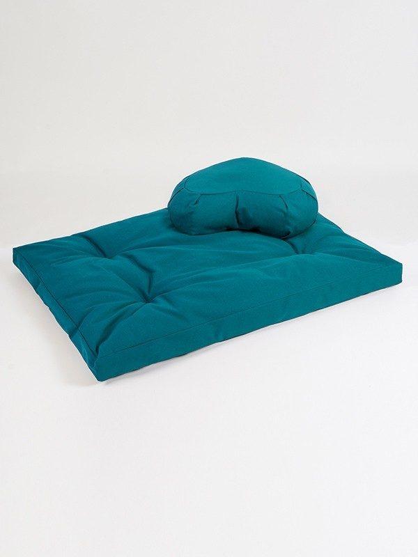 european zabuton crescent cushion organic kit moreyoga