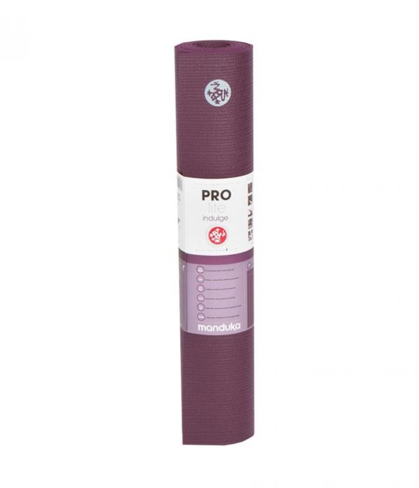 Manduka Prolite Yoga Mat | Indulge - Rolled with label