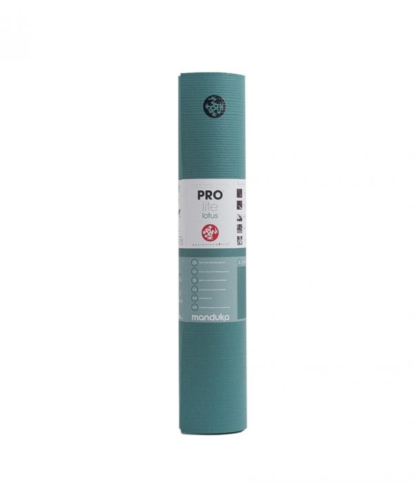 Manduka Prolite Yoga Mat | Lotus - Rolled with label