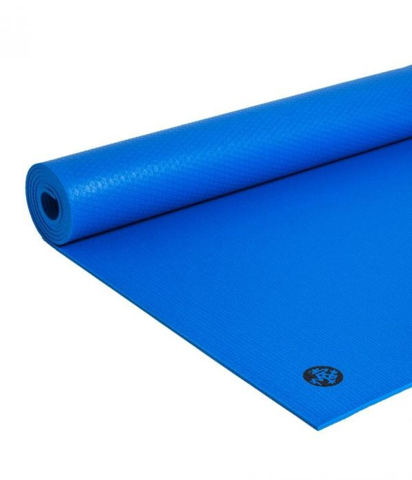 Manduka Prolite Yoga Mat | Truth Blue - Rolled
