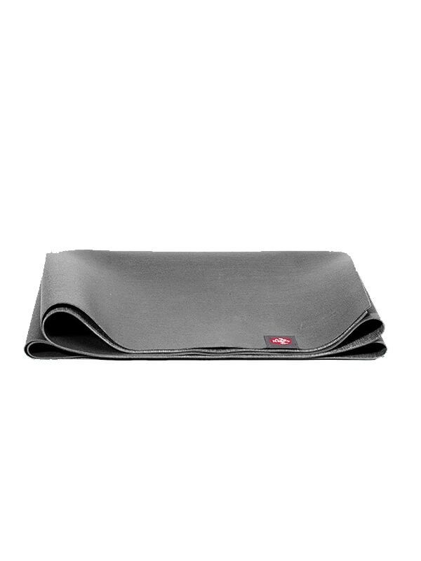 Manduka eKO SuperLite Travel Yoga Mat | Charcoal - Folded