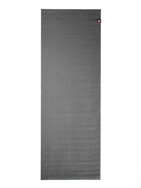 Manduka eKO SuperLite Travel Yoga Mat | Charcoal - Flat
