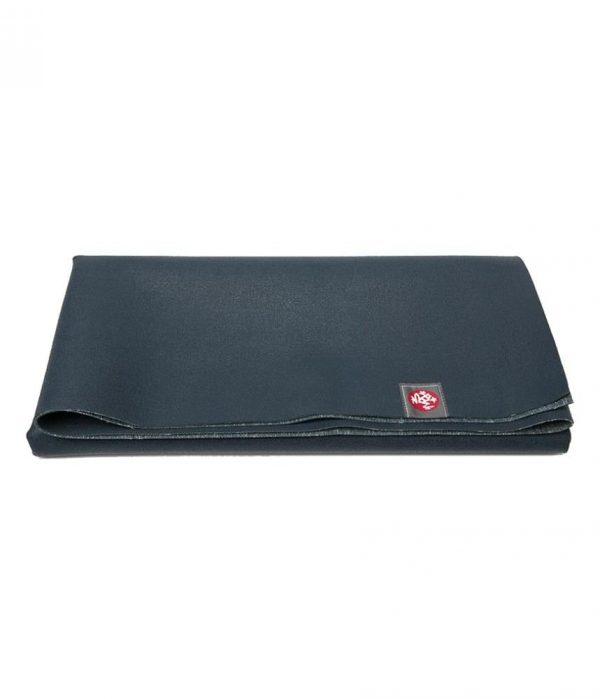 Manduka eKO SuperLite Travel Yoga Mat | Midnight - Folded