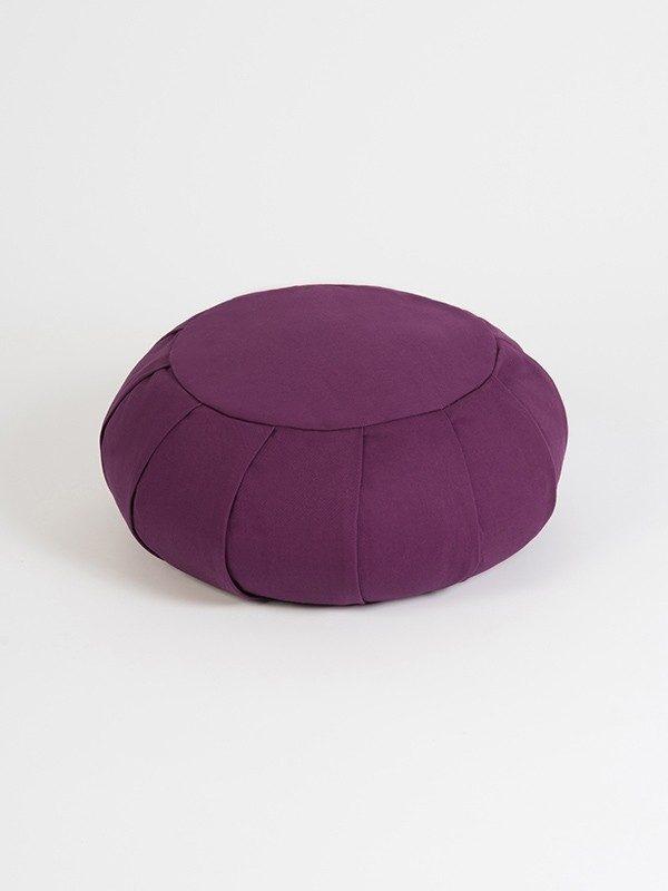 YogaStudio_aYogaStudioaYoga Studio European Organic Buckwheat Zafu Round Cushion | Lilac