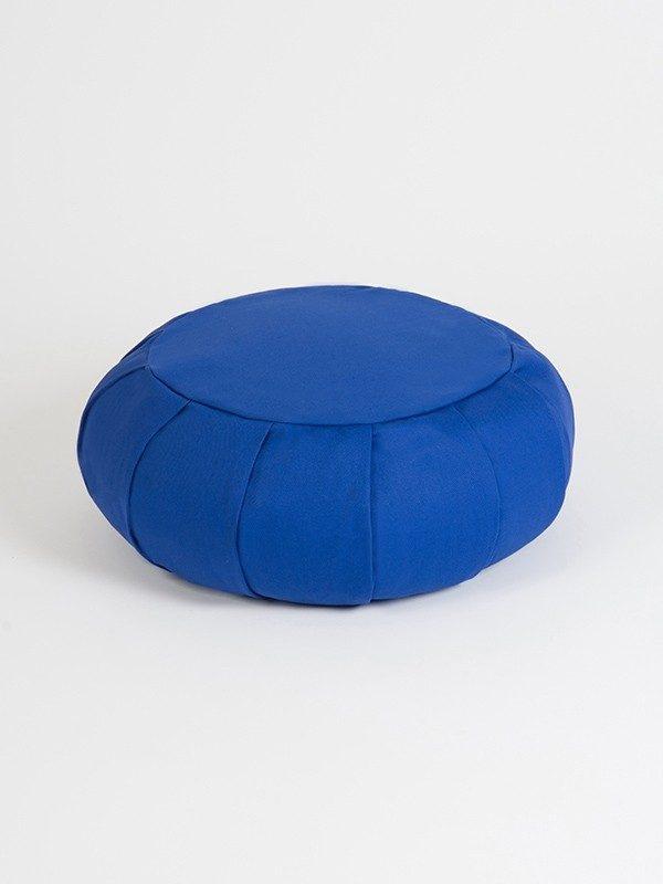 YogaStudio_aYogaStudioaYoga Studio European Organic Buckwheat Zafu Round Cushion | Sapphire