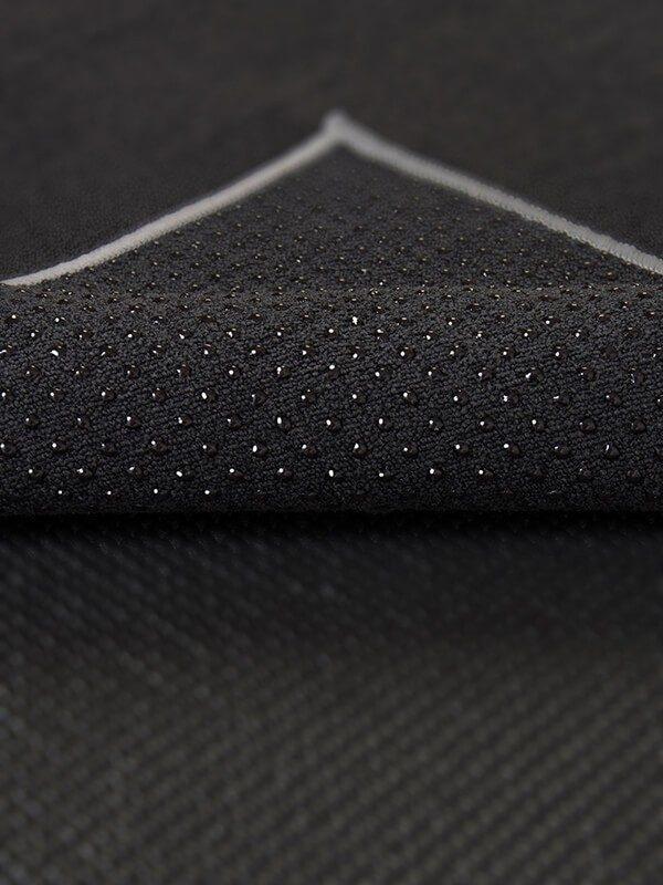 Premium Yoga Mat Grip Dot Towels | Black (Dot Detail)
