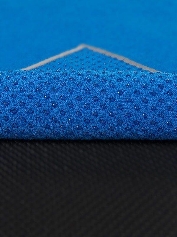 Premium Yoga Mat Grip Dot Towels | Blue (Dot Detail)