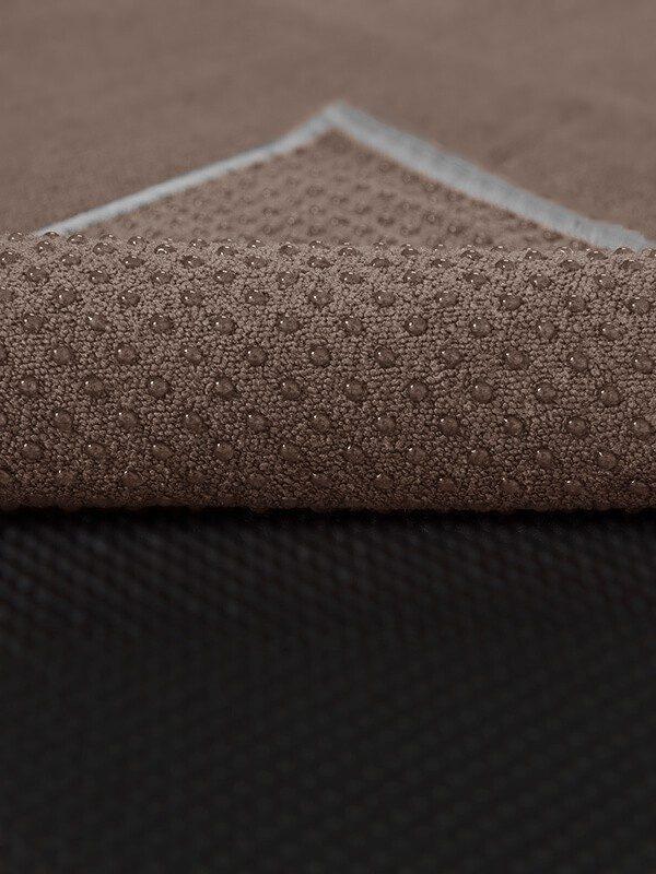 Premium Yoga Mat Grip Dot Towels | Coffee (Dot Detail)