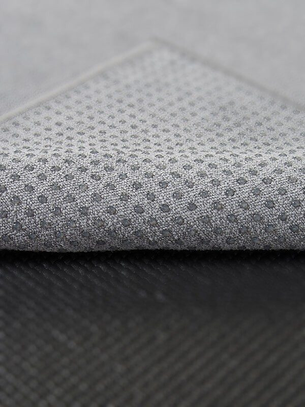 Premium Yoga Mat Grip Dot Towels | Grey (Dot Detail)