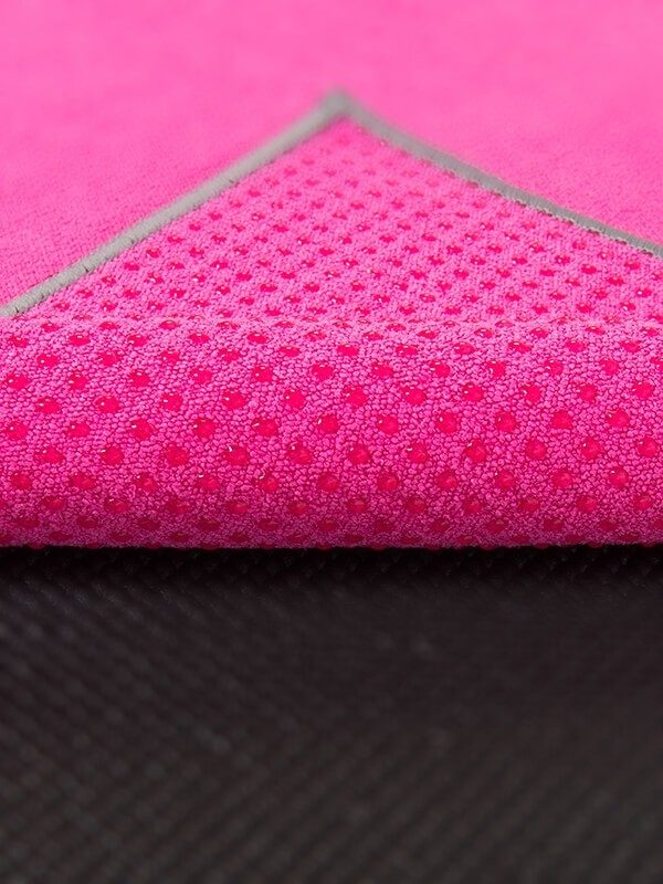 Premium Yoga Mat Grip Dot Towels | Hot Pink (Dot Detail)