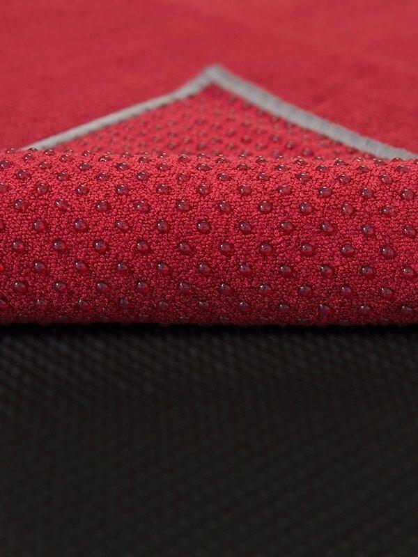 Premium Yoga Mat Grip Dot Towels | Red (Dot Detail)