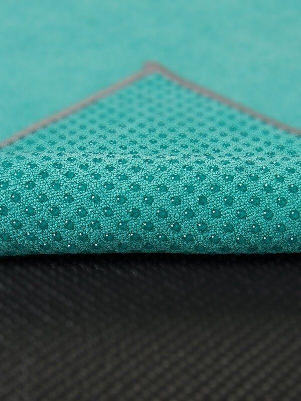 Premium Yoga Mat Grip Dot Towels | Turquoise (Dot Detail)