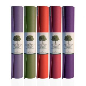 Jade Yoga Harmony 68 Inch Yoga Mat | Main Image of different colours