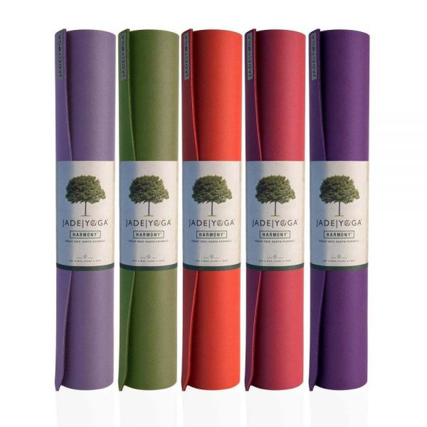 Jade Yoga Harmony 68 Inch Yoga Mat | Main Image of different colours