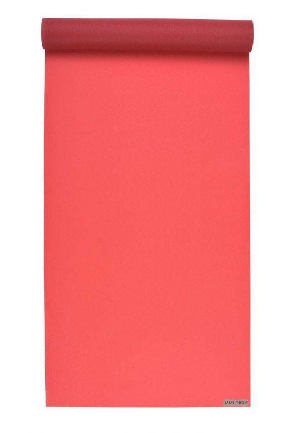 Jade Yoga Harmony 68 Inch Yoga Mat | Sedona Red - Mostly Flat