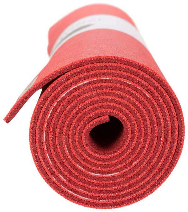 Jade Yoga Harmony 71 Inch Yoga Mat | Chilli Red / Sedona Red - Detail