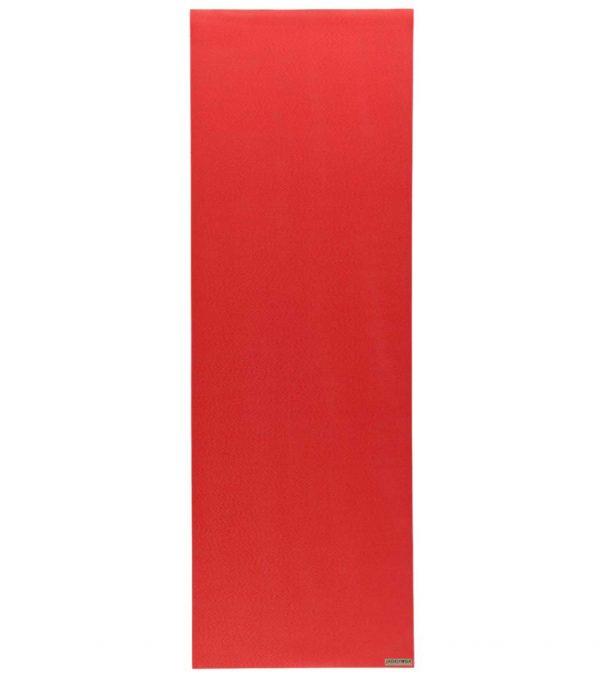 Jade Yoga Harmony 71 Inch Yoga Mat | Chilli Red / Sedona Red - Flat