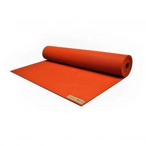 Jade Yoga Harmony 71 Inch Yoga Mat | Clay - Half Rolled
