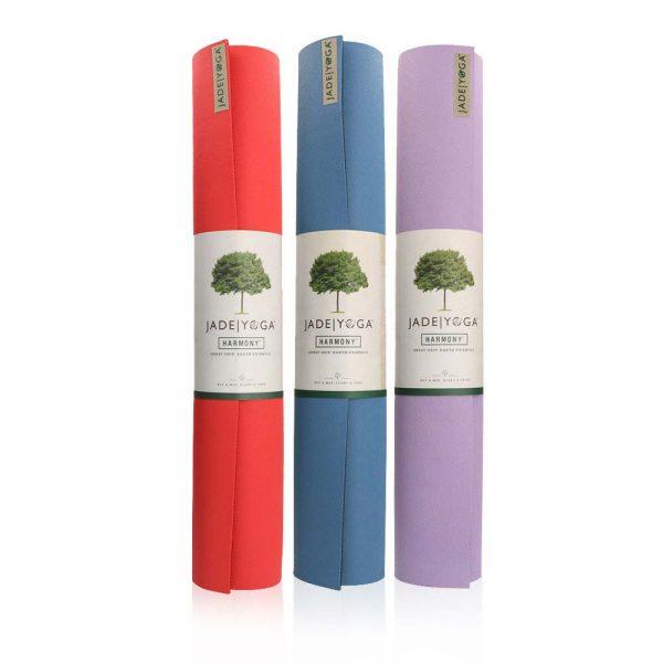 Jade Yoga Harmony 71 Inch Yoga Mat   Main image of different colours