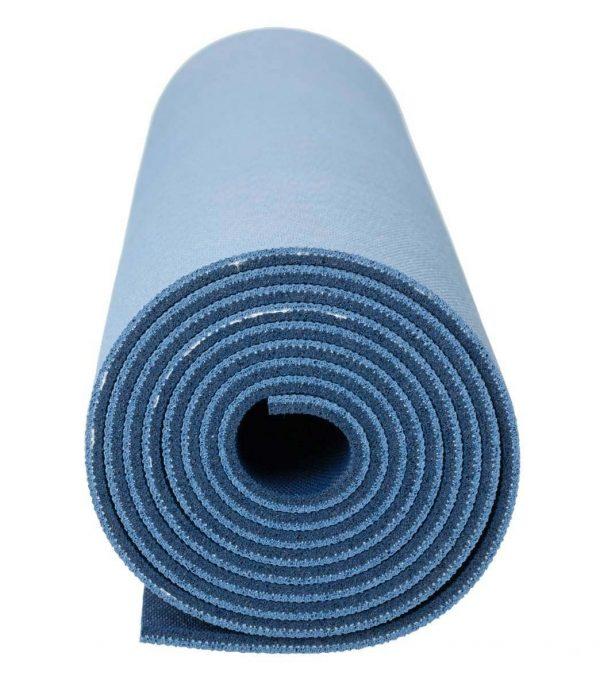 Jade Yoga Harmony 71 Inch Yoga Mat | Slate / Midnight Blue - Detail