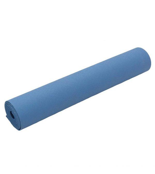 Jade Yoga Harmony 71 Inch Yoga Mat | Slate / Midnight Blue - Rolled